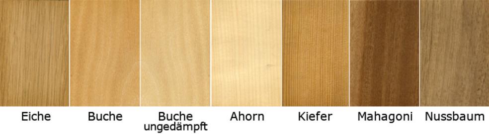 Treppen Holzarten - Finden Sie die passende Holzart für ...